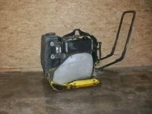 Vibrationsplatte zum Asphaltieren